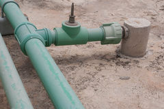 Wasserleitung Stockfoto