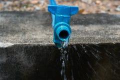 Wasserleitung Stockbild