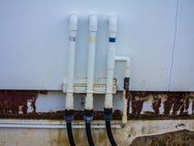 Wasserleitungslinie stockbilder