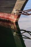 Wasserlinien-Detail lizenzfreies stockfoto