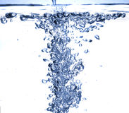 Wasserluftblase Lizenzfreies Stockbild