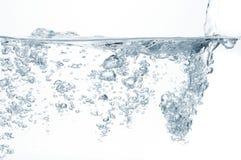 Wasserluftblasen lizenzfreie stockbilder