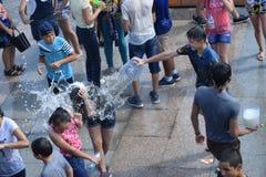 Wassermädchen Stockfotografie