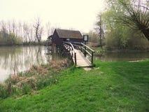 Wassermühle Lizenzfreie Stockbilder