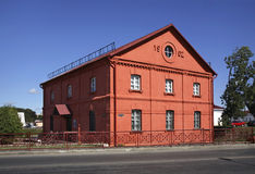 Wassermühle in Orsha belarus lizenzfreie stockbilder