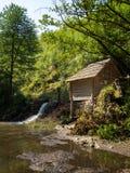 Wassermühlen auf dem nera Fluss Caras Severin Stockbilder