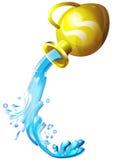 Wassermannzeichen Vektor Abbildung