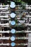 Wassermeßinstrument Stockfotografie