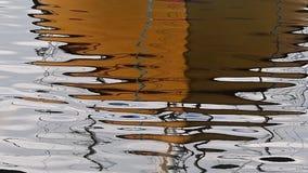 Wassermeeresoberflächeozean mit Kräuselungen und Inspektion stock footage