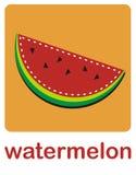 Wassermelone vektor abbildung