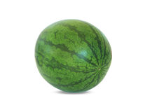 Wassermelone auf Weiß Lizenzfreie Stockfotos