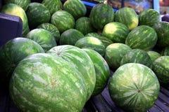 Wassermelone für Verkauf! Lizenzfreies Stockfoto