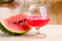 Wassermelone-Getränk lizenzfreie stockfotos
