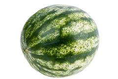 Wassermelone getrennt Stockfoto