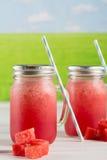 Wassermelone granita Lizenzfreies Stockbild
