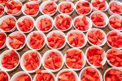 Wassermelone im isomobox Lizenzfreies Stockbild