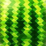 Wassermelone im Stil des Mosaiks vektor abbildung