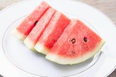Wassermelone im thalland Stockbilder