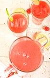 Wassermelone-Locher Lizenzfreie Stockbilder