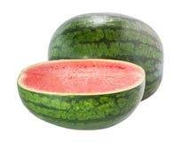 Wassermelone lokalisiert Lizenzfreie Stockfotografie