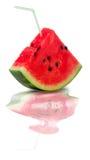 Wassermelone-Saft Stockfotografie
