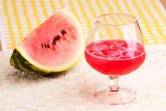 Wassermelone-Saft stockbild
