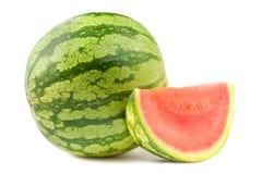 Wassermelone und Kapitel lizenzfreies stockfoto