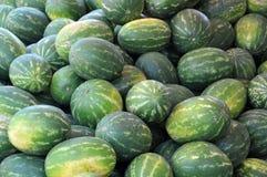 Wassermelonehintergrund Stockfotos