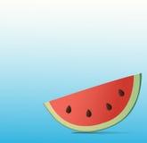 Wassermelonen-Hintergrund Lizenzfreies Stockfoto