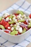 Wassermelonen-Salat Stockbild