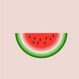 Wassermelonen-Vektor Stockbild