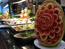 Wassermelonenblume Stockfoto