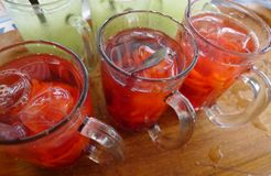 Wassermeloneneis von Aceh lizenzfreies stockbild