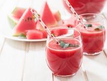 Wassermelonenerfrischung Stockbild