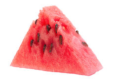 Wassermelonenfrucht-Dreieckscheibe Lizenzfreie Stockfotografie