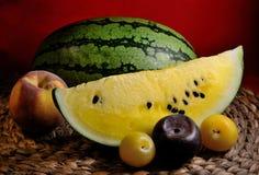 Wassermelonengelb Lizenzfreies Stockbild