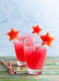 Wassermelonengetränk Lizenzfreies Stockfoto