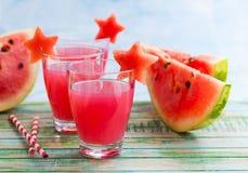 Wassermelonengetränk Lizenzfreies Stockbild