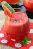 Wassermelonengetränk Stockbild