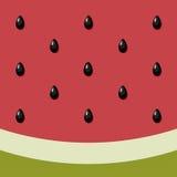 Wassermelonenhintergrund Stockfoto
