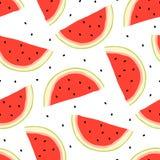Wassermelonenhintergrund Lizenzfreies Stockbild