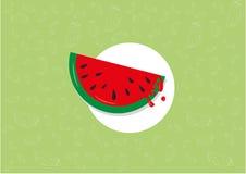 Wassermelonenmuster stockfotos