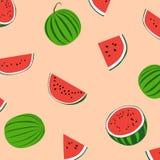 Wassermelonenmuster von Thailand Stockbild