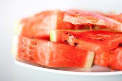 Wassermelonennahaufnahme Stockfoto