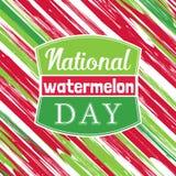 Wassermelonenplakatkonzept Lizenzfreie Stockbilder