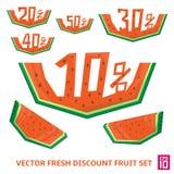 Wassermelonenrabatt Lizenzfreies Stockbild