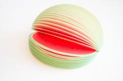 Wassermelonenscheiben stockfoto