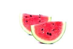 Wassermelonenscheiben Lizenzfreies Stockbild