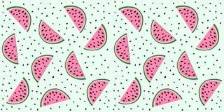 Wassermelonenscheiben Stockfotografie