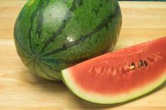 Wassermelonenweißhintergrund Lizenzfreie Stockbilder
